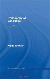 Philosophy of language 2nd ed