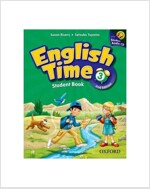 English Time 3 : Student Book (Paperback + Audio CD, 2nd Edition)