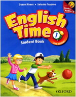 English Time: 1: Student Book and Audio CD (Package, 2nd Edition)