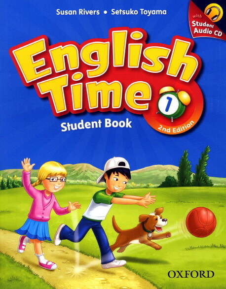 English Time 1 : Student Book (Paperback + Audio CD, 2nd Edition)
