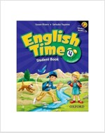 English Time 4 : Student Book (Paperback + Audio CD, 2nd Edition)
