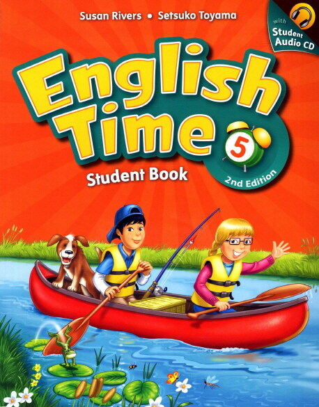 English Time 5 : Student Book (Paperback + Audio CD, 2nd Edition)