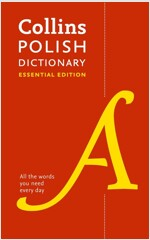 Polish Essential Dictionary : All the Words You Need, Every Day (Paperback)