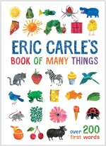 Eric Carle's Book of Many Things : Over 200 First Words (Hardcover)