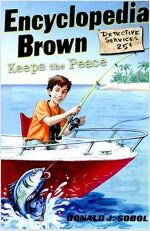 Encyclopedia Brown Keeps the Peace (Paperback)