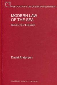 Modern law of the sea : selected essays