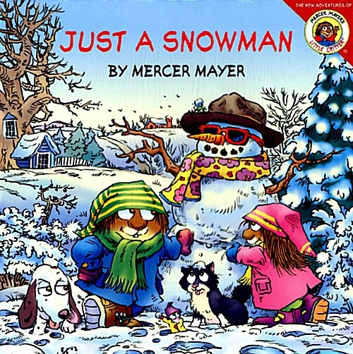Just a Snowman [With Stickers] (Paperback)
