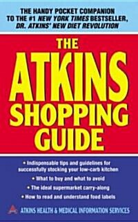 The Atkins Shopping Guide (Mass Market Paperback)