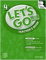 (4판)Let's Go 4: Teacher's Book (Paperback , 4th Edition)