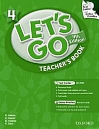 (4판)Lets Go 4: Teachers Book (Paperback , 4th Edition)