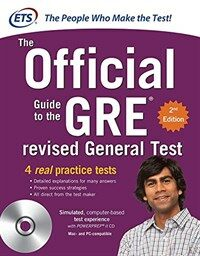 GRE the Official Guide to the Revised General Test , Second Edition [With CDROM] (Paperback, 2, Revised)