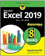 Excel 2019 All-In-One for Dummies (Paperback)