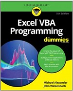 Excel VBA Programming for Dummies (Paperback, 5)
