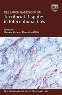 Research handbook on territorial disputes in international law