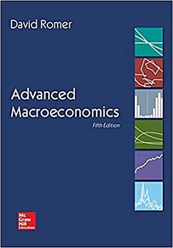 Advanced Macroeconomics (Hardcover, 5)