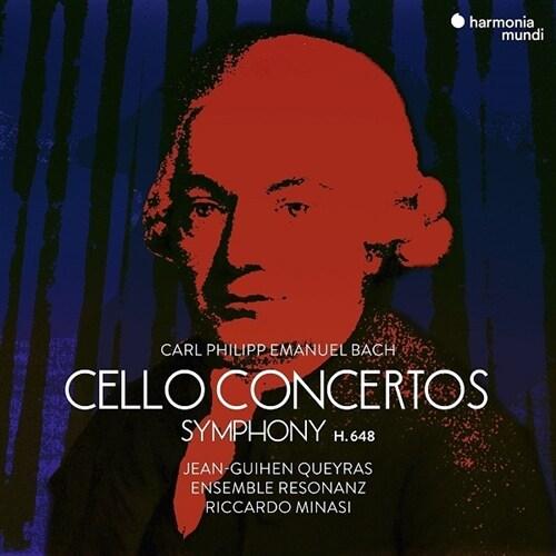 [수입] C.P.E.바흐: 첼로 협주곡 Wq170, Wq172 & 교향곡 Wq173