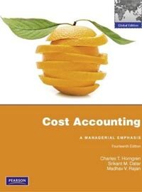 Cost Accounting (14th Edition, Paperback)