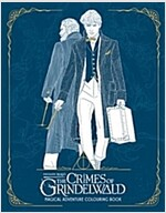 Fantastic Beasts: The Crimes of Grindelwald - Magical Adventure Colouring Book (Paperback)