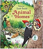 Look Inside Animal Homes (Board Book)