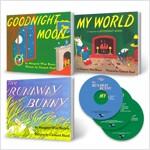Pictory Margaret Wise Brown 3종 (픽토리 마가렛 와이즈 브라운 3종) (3 books + 3 CDs)