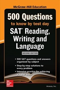 McGraw Hills 500 SAT Reading, Writing and Language Questions to Know by Test Day, Second Edition (Paperback, 2)