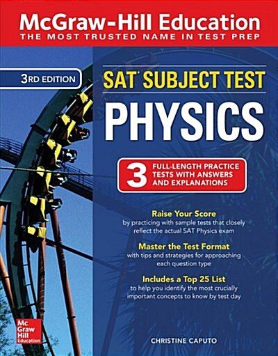 McGraw-Hill Education SAT Subject Test Physics Third Edition (Paperback, 3)