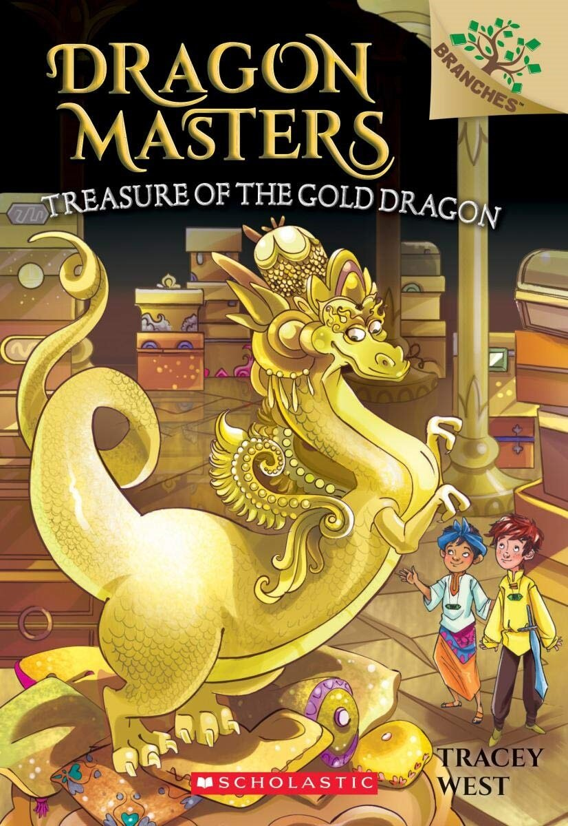 Dragon Masters #12:Treasure of the Gold Dragon (Paperback)