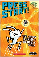 The Super Side-Quest Test!: A Branches Book (Press Start! #6) (Paperback)
