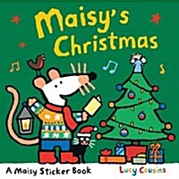 Maisys Christmas: Sticker Book (Paperback)
