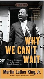 Why We Can't Wait (Mass Market Paperback)