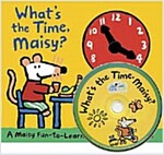 What's the Time, Maisy? (Board Book + CD)