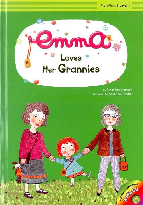 Emma Loves Her Grannies (책 + CD 1장)