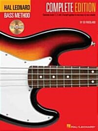 Hal Leonard Bass Method - Complete Edition: Books 1, 2 and 3 Bound Together in One Easy-To-Use Volume! (Paperback + Audio Online, 2, Revised)