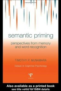 Semantic priming : perspectives from memory and word recognition