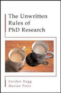 The unwritten rules of PhD research