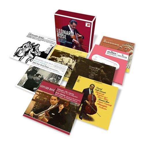 [수입] 레너드 로즈 - 협주곡과 소나타 녹음 전집 (소니 레코딩) [오리지널 커버 14CD]