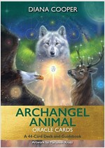 Archangel Animal Oracle Cards : A 44-Card Deck and Guidebook (Cards)