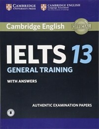 Cambridge IELTS 13 General Training Student's Book with Answers with Audio (Paperback + Downloadable Audio File)