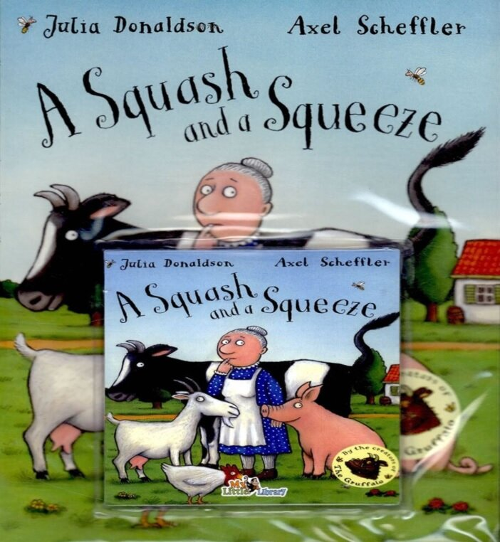 Pictory Set 2-27 / A Squash and a Squeeze (New) (Paperback + CD)