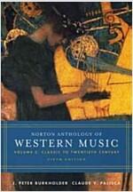 Norton Anthology of Western Music (Paperback, 5th)