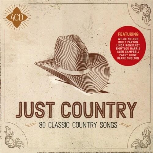 [수입] Just Country [4CD][디럭스 에디션]