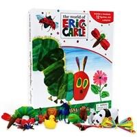 My Busy Books : The World of Eric Carle 에릭칼 비지북 (미니피규어 12개 + 놀이판)