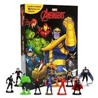 Marvel Avengers Infinity War My Busy Books 어벤져스 인피니티워 비지북 (미니피규어 10개 + 놀이판)