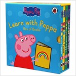 Learn with Peppa Pig (Board book 4권)