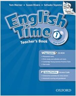 English Time 1 : Teacher's Book (Paperback + CD + Online Access Code, 2nd Edition)