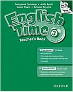 English Time: 3: Teacher's Book with Test Center and Online Practice (Package, 2 Revised edition)