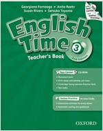 English Time 3 : Teacher's Book ( Paperback + CD + Online Access Code , 2nd Edition)