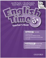 English Time 4 : Teacher's Book (Paperback + CD + Online Access Code, 2 Revised edition)