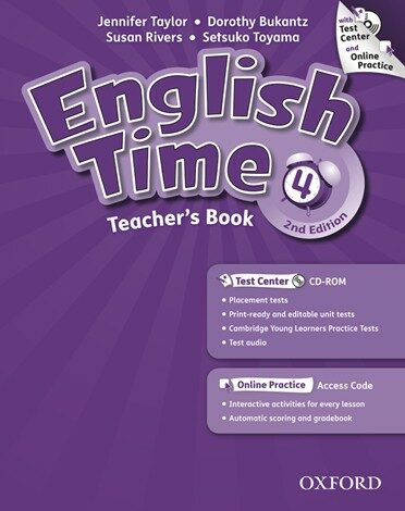 English Time 4 : Teachers Book (Paperback + CD + Online Access Code, 2 Revised edition)