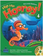 Hip Hip Hooray 4, (Student Book)(CD1장포함),Second Edition